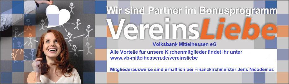 Banner Partnerverein Volksbank Mittelhessen